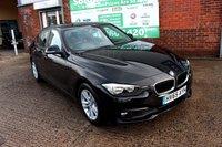 USED 2015 65 BMW 3 SERIES 2.0 320D ED PLUS 4d 161 BHP +ONE OWNER +LEATHER +SAT NAV.