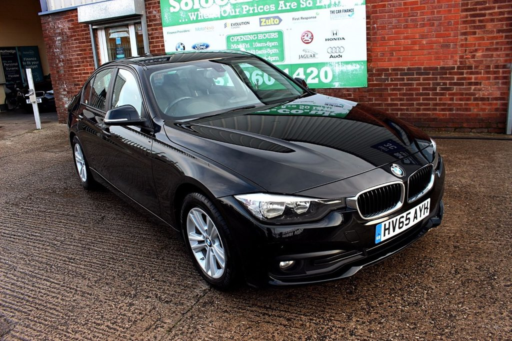 2015 65 BMW 3 SERIES 2.0 320D ED PLUS 4d 161 BHP