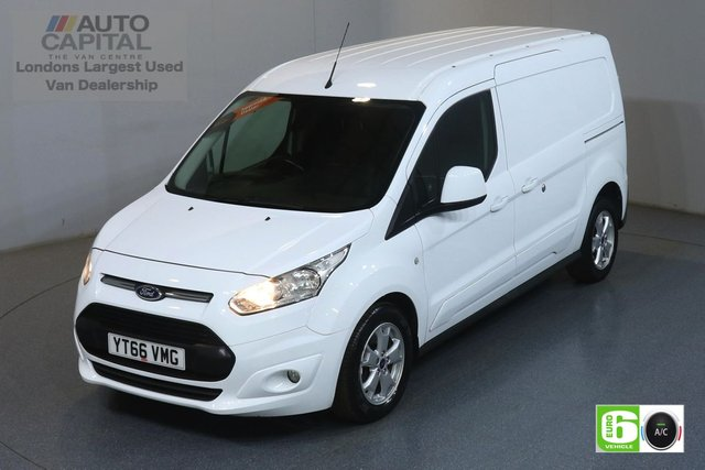 2016 66 FORD TRANSIT CONNECT 1.5 240 LIMITED L2 H1 118 BHP EURO 6 ENGINE AIR CON, REAR PARKING SENSORS, ALLOY WHEEL, DEADLOCK