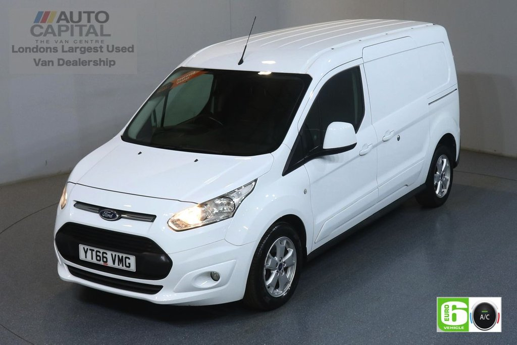 USED 2016 66 FORD TRANSIT CONNECT 1.5 240 LIMITED L2 H1 118 BHP EURO 6 ENGINE AIR CON, REAR PARKING SENSORS, ALLOY WHEEL, DEADLOCK