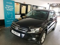 2016 VOLKSWAGEN TIGUAN 2.0 ESCAPE TDI BLUEMOTION TECHNOLOGY 4MOTION 5d 148 BHP £12495.00
