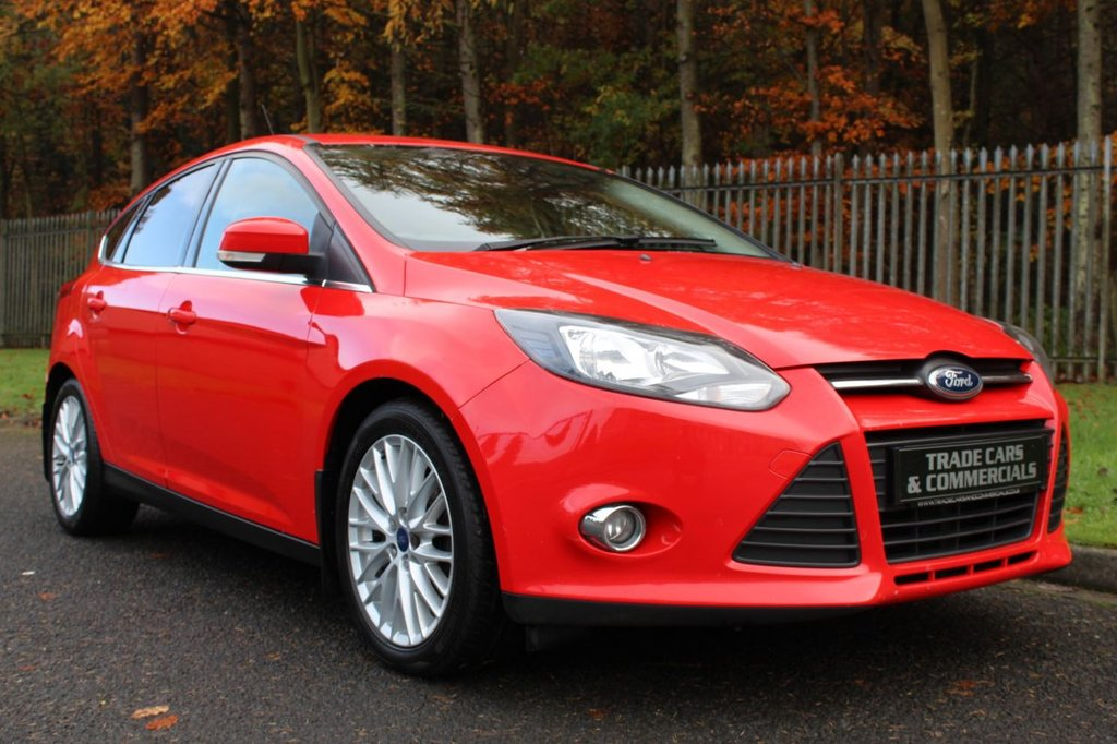 USED 2012 62 FORD FOCUS 1.6 ZETEC TDCI 5d 113 BHP ONLY £20 A YEAR ROAD TAX AND UPTO 76MPG!!!