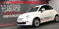 USED 2012 62 FIAT 500 1.2 LOUNGE 3d 69 BHP ITALIAN FLAG STRIPE