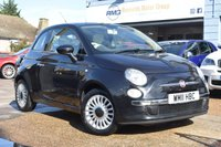 USED 2011 11 FIAT 500 1.2 LOUNGE 3d 69 BHP COMES WITH 6 MONTHS WARRANTY