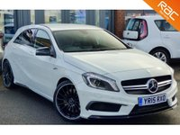 USED 2015 15 MERCEDES-BENZ A CLASS 2.0 A45 AMG 4MATIC 5d AUTO 360 BHP