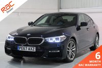 USED 2017 67 BMW 5 SERIES 2.0 520D XDRIVE M SPORT 4d AUTO 188 BHP MANUFACTURERS WARRANTY,PROFESSIONAL MEDIA, FULL LEATHER INTERIOR, HEATED SEATS