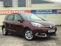 USED 2013 63 RENAULT SCENIC 1.5 DYNAMIQUE TOMTOM ENERGY DCI S/S 5d 110 BHP