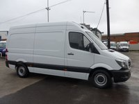 USED 2016 16 MERCEDES-BENZ SPRINTER 313 CDI MWB CHILLER BOX, 130 BHP [EURO 5]