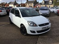USED 2008 08 FORD FIESTA 1.2 ZETEC BLUE 5d 75 BHP LOW MILEAGE WITH FULL SERVICE HISTORY