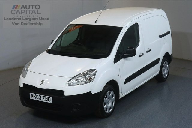 2013 63 PEUGEOT PARTNER 1.6 HDI PROFESSIONAL 850 89 BHP SWB AIR CON AIR CONDITION, ONE OWNER