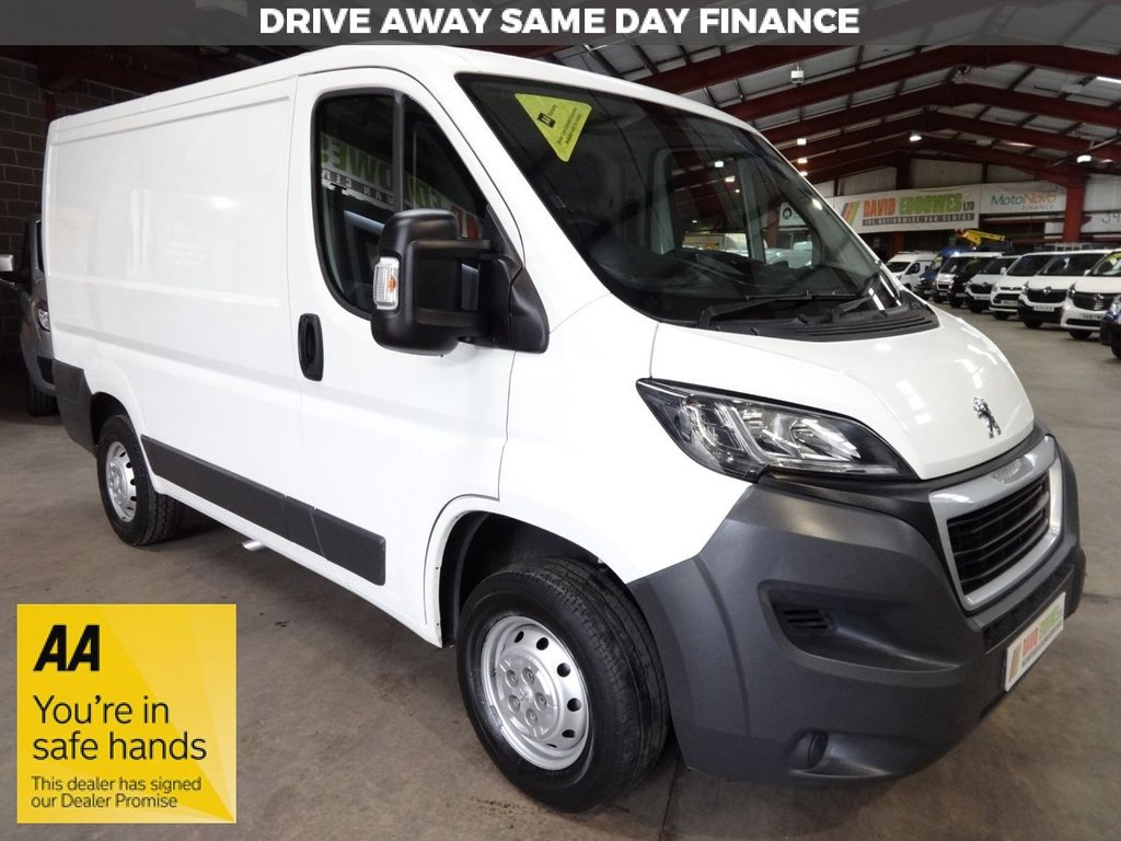 USED 2015 64 PEUGEOT BOXER 2.2 HDI 330 L1H1 PROFESSIONAL P/V 110 BHP SWB VAN AA DEALER WARRANTY PROMISE - TRADING STANDARDS APPROVED