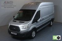 USED 2018 18 FORD TRANSIT 2.0 350 TREND L3 H3 129 BHP EURO 6 ENGINE AIR CON, FRONT- REAR PARKING SENSORS, ALLOY WHEEL