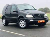 USED 2004 04 MERCEDES-BENZ M CLASS 2.7 ML270 CDI 5d AUTO 163 BHP