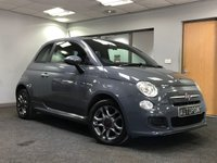 USED 2013 63 FIAT 500 1.2 S 3d 69 BHP +++FULL DEALER SERVICE HISTORY+++ +++EXCELLENT DRIVER+++