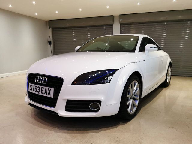 USED 2013 63 AUDI TT 1.8 TFSI SPORT 2d 158 BHP FULL AUDI SERVICE HISTORY + IMMACULATE CONDITION