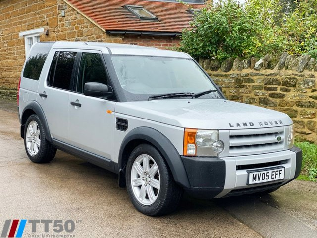 2005 05 LAND ROVER DISCOVERY 2.7 3 TDV6 7 SEATS 5d 188 BHP