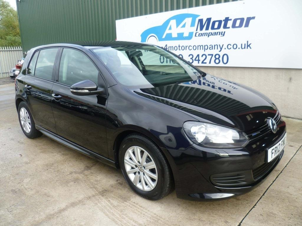 USED 2012 12 VOLKSWAGEN GOLF 1.6 TDI BlueMotion Tech 5dr VW SERVICE HISTORY - LOW MILES