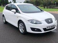 2011 SEAT LEON 1.6 CR TDI ECOMOTIVE SE COPA 5d 103 BHP £4495.00