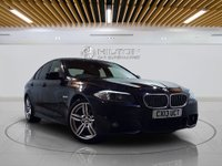 "USED 2013 13 BMW 5 SERIES 2.0 520D M SPORT 4d AUTO 181 BHP Sat Nav | Leathers | 19"" Alloys 
