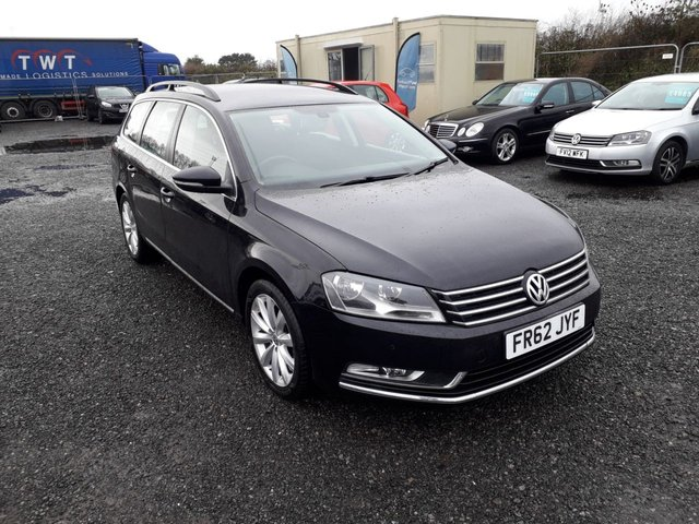 2013 62 VOLKSWAGEN PASSAT 2.0 HIGHLINE TDI BLUEMOTION TECHNOLOGY DSG 5d AUTO 139 BHP LOW MILEAGE WITH HISTORY