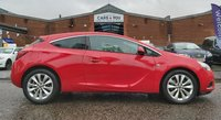 USED 2015 15 VAUXHALL ASTRA 1.4 GTC SRI 3d AUTO 138 BHP 1 OWNER FROM NEW *  FULL SERVICE RECORD *  FULL YEAR MOT *  CRUISE CONTROL *  ALLOY WHEELS *