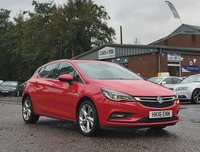 USED 2016 16 VAUXHALL ASTRA 1.4 SRI S/S 5d AUTO 148 BHP BLUETOOTH + DAB RADIO + CRUISE CONTROL + FULL SERVICE RECORD + 1 OWNER FROM NEW + MOT AUGUST 2020 +