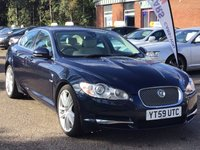 USED 2009 59 JAGUAR XF 3.0 V6 PORTFOLIO 4d AUTO 240 BHP REVERSING CAMERA * NAVIGATION SYSTEM * BLUETOOTH * LEATHER * DAB RADIO * FULL SERVICE RECORD *