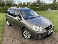 USED 2011 11 KIA CARENS 1.6 CRDI 3 5d 127 BHP Full KIA History, MOT 10/20, Leather Upholstery  Fully Documented Full KIA Main Dealer Service History, MOT 10/20, Recently Serviced, Full Leather Upholstery, Bluetooth Handsfree, X2 Owners, Unmarked Body, X2 Keys, 7 Seater, X4 Elec Windows, Elec Mirrors, Power Folding Mirrors, Full Carpet Mat Set, Bought Directly From A Kia Main Dealer As One Of They're Part Exchanges, Drives Perfectly, Superb Value For Money, Fastidiously Maintained, Fully Documented Service History File, You Will Not Find A Cleaner, Better Maintained Example, You Will Not B