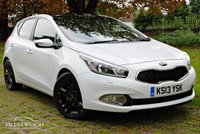 USED 2013 13 KIA CEED 1.6 CRDI 4 TECH ECODYNAMICS [126 BHP] 5 DOOR HATCHBACK