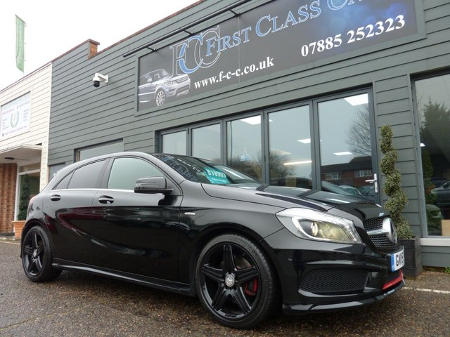 2015 15 MERCEDES-BENZ A CLASS 2.0 A250 4MATIC ENGINEERED BY AMG 5d AUTO 211 BHP