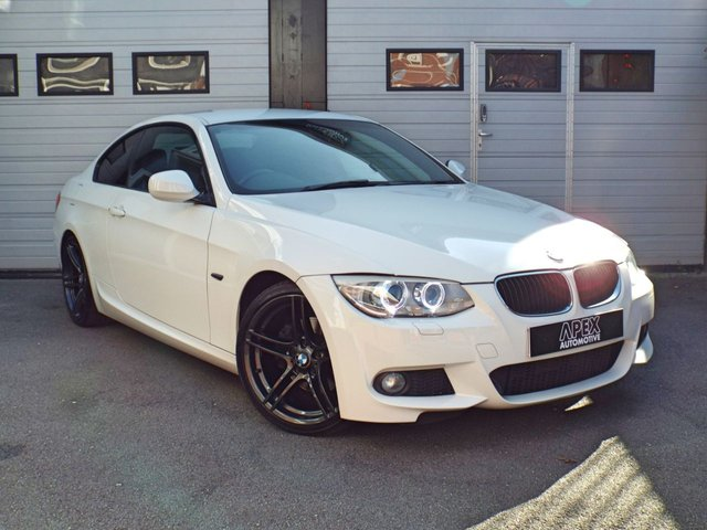 2011 61 BMW 3 SERIES 2.0 320D M SPORT 2d AUTO 181 BHP