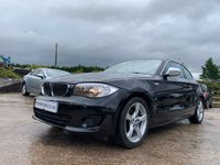 USED 2013 BMW 1 SERIES 2.0 118D EXCLUSIVE EDITION 2d 141 BHP HEATED+RUNFLAT+MEDIA+AUX+30ROADTAX+2KEYS+LEATHER+ALLOYS+AIRCON+