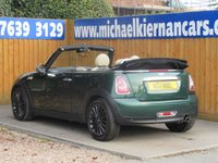 USED 2011 11 MINI CONVERTIBLE 1.6 ONE 2d 98 BHP FSH, BLUETOOTH, AUX/ USB INPUT