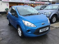 USED 2011 11 FORD KA 1.2 STUDIO 3d 69 BHP Low tax, low insurance, economical, low price, superb.