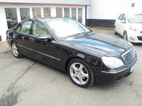 2005 MERCEDES-BENZ S CLASS 3.2 S320 CDI SE 4d AUTO 204 BHP £4995.00