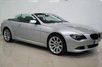 2008 BMW 6 SERIES 3.0 630I SPORT 2d AUTO 269 BHP £9950.00