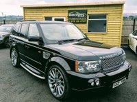 2008 LAND ROVER RANGE ROVER SPORT 3.6 TDV8 SPORT HSE 5d AUTO 269 BHP £9500.00