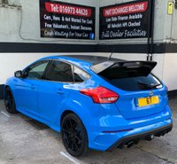 USED 2017 67 FORD FOCUS RS EDITION 2.3 5DR 345 BHP, WARRANTY UNTIL DEC 2022. FORD SYNC 3 NAV, FORGED ALLOYS & DOOR EDGE PROTECTORS