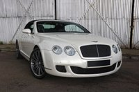 USED 2009 09 BENTLEY CONTINENTAL 6.0 GTC SPEED 2d AUTO 601 BHP