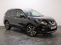 USED 2016 16 NISSAN X-TRAIL 1.6 DCI TEKNA XTRONIC 5d AUTO 130 BHP PANORAMIC ROOF + 360 REVERSE CAMERA + FULL NISSAN HISTORY + 1 OWNER + FULL HEATED LEATHER + SAT NAV