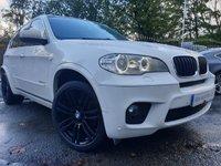 USED 2012 12 BMW X5 3.0 XDRIVE30D M SPORT 5d AUTO 241 BHP 20ALLOYS+CLIMATE+PARKING+HEATED+2KEYS+NAV+LEATHER+PRIV+MEDIA+
