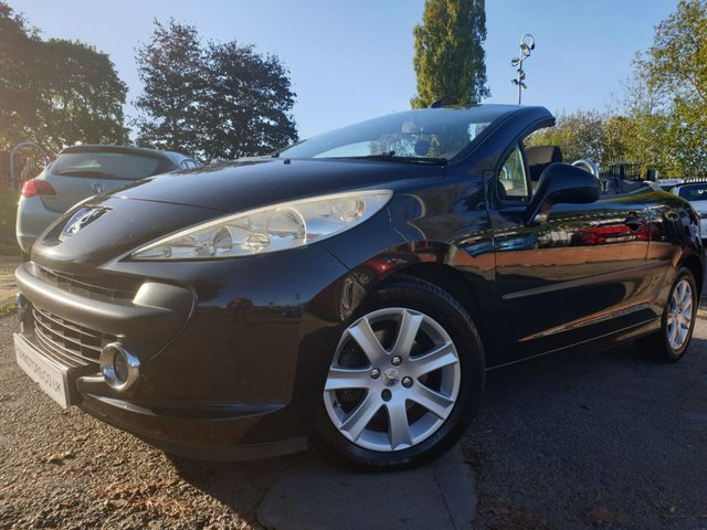 USED 2007 07 PEUGEOT 207 1.6 SPORT COUPE CABRIOLET HDI 2d 108 BHP NEWCLUTCH+AUX+USB+AIRCON+FSH+