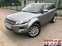 USED 2014 14 LAND ROVER RANGE ROVER EVOQUE 2.2 ED4 PURE TECH 5d 150 BHP SATELLITE NAVIGATION. PANORAMIC SUNROOF. STUNNING GREY WITH FULL BEIGE LEATHER TRIM. ELECTRIC HEATED SEATS. CRUISE CONTROL. 18 INCH ALLOYS. COLOUR CODED TRIMS. PRIVACY GLASS. PARKING SENSORS. BLUETOOTH PREP. CLIMATE CONTROL INCLUDING AIR CON. MULTIMEDIA SYSTEM. R/CD/DAB RADIO. MFSW. MOT 10/20. SERVICE HISTORY. SUV4X4 USED SUV CENTRE LS23 7FR. TEL 01937 849492. OPTION 2