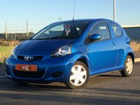 USED 2011 60 TOYOTA AYGO 1.0 VVT-I BLUE 3d 67 BHP ULTRA LOW MILEAGE ONLY 18K A/C