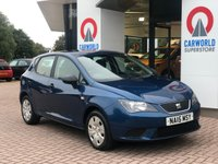 USED 2015 15 SEAT IBIZA 1.2 CR TDI ECOMOTIVE  AC 5d 74 BHP 1 OWNER   AIR CONDITIONING  
