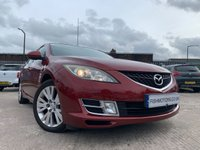 USED 2008 08 MAZDA MAZDA6 2.0 TS2 5d 145BHP AUTOMATIC 2KEYS+ALLOYS+MEDIA+CRUISE+USB+CLIMATE+PAS+ELECS+HISTORY+AUX+CD+