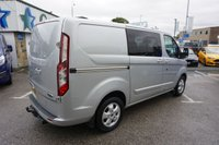 USED 2017 67 FORD TRANSIT CUSTOM 290 2.0 TDCI 130 BHP SWB LIMITED CREWCAB 6DR ( NO VAT !! ) 67 PLATE , JUST 14000 MILES , 6 SEATER & NO VAT !!