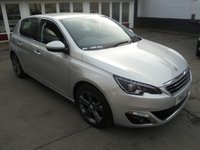 2016 PEUGEOT 308 1.2 PURETECH S/S ALLURE 5d AUTO 130 BHP £SOLD