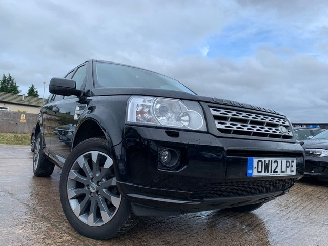 USED 2012 12 LAND ROVER FREELANDER 2.2 SD4 HSE 5d AUTO 190 BHP 19ALLOYS+CLIMATE+PARKING+AUX+USB+2KEYS+LEATHER+PANROOF+MEDIA+