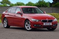 USED 2015 15 BMW 3 SERIES 1.6L 316I SPORT 4d 135 BHP SATELLITE NAVIGATION DAB FBMWSH